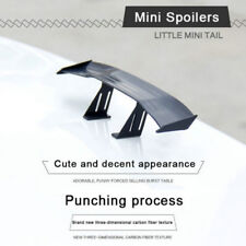 1X Car Mini Small NO Perforation Tail Wing Spoiler Decoration Stickers Universal