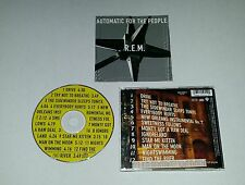CD REM R.E.M. - Automatic for the People 12.Tracks 1992 Everybody Hurts Drive 90