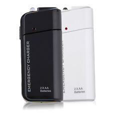 Universal USB Emergency Portable 2 AA Battery Power Charger for Mobile Phones YT