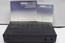 Yamaha M-35  Endstufe  Amplificateur Poweramp int. shipping