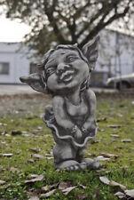 TROLL RAGAZZA CHANTAL Statua in ghisa resistente al gelo NUOVO Figura di pietra,