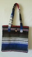 MEXICAN Handwoven Boho Hippie Bohemian Purse Blanket Beach Wear Shoulder Bag