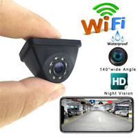 HD 150° WiFi Wireless auto Rear View Cam retromarcia telecamera visione notturna