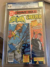 Brave and the Bold #143 cgc 9.6 Batman and The Creeper + The Human Target