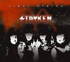 STRYKEN FIRST STRiKE CD CHRISTian METAL Traxter SCARLET Bride STRYPER LexRex REZ