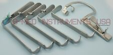 OR Grade Boyle Davis Mouth Gag With Suction With Blades ENT Surgical Instruments