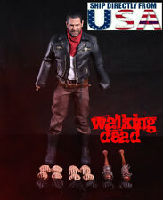 1/6 Scale Negan Figure Full Set with 2 x Lucille For The Walking Dead U.S.A.