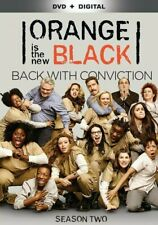 Orange Is the New Black: Season Two (DVD, 2015, 4-Disc Set) with SLIPCOVER!