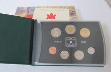 2000 SPECIMEN SET - ROYAL CANADIAN MINT 7-COIN SET - ORIGINAL CASE & CERTIFICATE