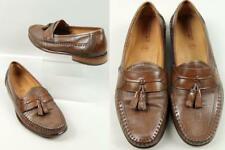 f92b242bcf7 Men s FLORSHEIM Bio Comfort Brown Quality Leather Loafers Dress Shoes 9 EEE