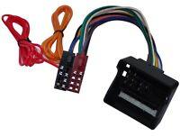 Adaptateur faisceau câble fiche ISO pour autoradio compatible Opel Vectra C