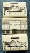 3 Bars of Beekman 1802 Goat Milk Soap, 3.5 oz each