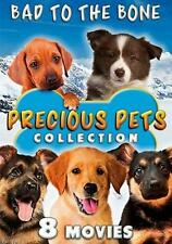 Precious Pets Collection: Bad to the Bone - 8 Movies (DVD, 2017, 2-Disc Set)