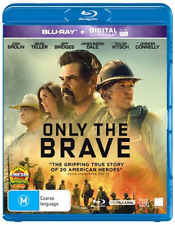 Only The Brave (Blu-ray, 2018) NEW