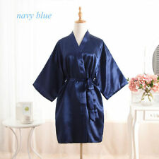 *Women robe Silk Satin Robes Wedding Bridesmaid Bride Gown kimono Robe HOT*