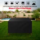 Waterproof Patio Furniture Table Chair Cover Rattan Square Cube Outdoor Garden