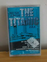 Music From The Titanic Era - New Sealed Compilation Cassette Tape