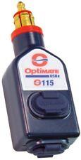 IXS tecMate OptiMate USB Doppelstecker zu Standard-Motorrad-Buchse