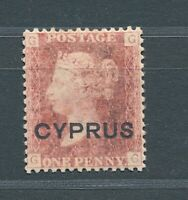 Cyprus 1880 QV Plate 218 MH / *