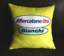 Brand New Team Mercatone UNO Bianchi  cycling cushion cover Pantani mega pro