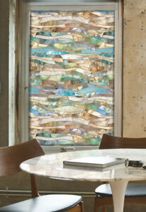 Artscape TERRAZZO Stained Glass Privacy Static Cling WINDOW FILM 24x36