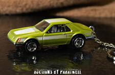 79 80 81 82 Ford Mustang Turbo 1/64 Custom Key Chain FOB Porte Cles Llavero