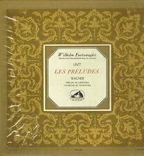 "LP 12"" 30cms: W. Furtwängler: Liszt: les préludes - Wagner. pathé"