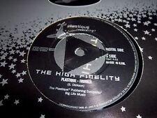 HIGH FIDELITY-COME AGAIN PT1/PLASTIQUE-TRONICA UK 45