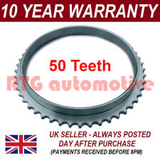 FOR MITSUBISHI SHOGUN PAJERO 50 TOOTH FRONT ABS RELUCTOR RING DRIVESHAFT JOINT