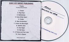TRAVIS The Boy With No Name 2007 UK 12-track promo publishing CD Sony/ATV