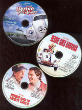 Herbie Love Bug DVDs X3 Goes Banans Monte Carlo Loaded