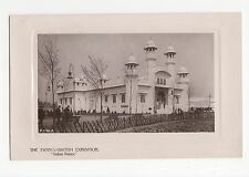 Franco British Exhibition, Indian Palace RP Postcard, A562