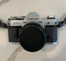 Canon AE-1 35mm Camera, accessories, lens, filter, flash, bag Vintage Estate