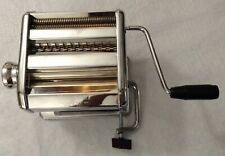 Marcato TIPO LUSSO MOD. 150 Machine Made in Italy Includes Pasta Cutter, Silver