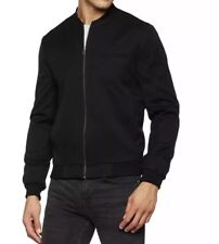 New Look Men's Smart Bomber Jackets in Black size XS