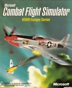 MICROSOFT COMBAT FLIGHT SIMULATOR WWII +1Clk Windows 10 8 7 Vista XP Install