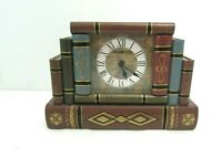 Howard Miller 645-421 Jewelry Box Book Table or Desk Clock Home Decor