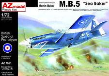 """AZ Models 1/72 KIT 7561 MARTIN-BAKER mb.12.7cmsea Baker """""""