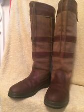 GENUINE DUBARRY GALWAY BROWN WALNUT GORTEX WATERPROOF LEATHER BOOTS UK9 EU43