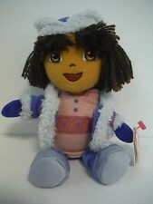 "TY BEANIE BABIES~DORA THE EXPLORER~RUSSIA WINTER~(YARN HAIR)~8""~NEW~2006~MWMT"