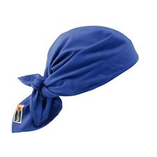 Ergodyne Chill-Its 6710FR Evaporative FR Cooling Triangle Hat 12627, Blue, NEW