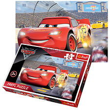 Trefl 24 PEZZI MAXI KID per ragazzi DISNEY PIXAR CARS 2 LIGHTNING MCQUEEN Puzzle