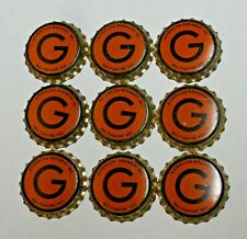 9 - GARRETT COUNTY TAX PAID - CORK unused BEER BOTTLE CAPS - BALTIMORE, MARYLAND