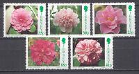 Blumen, Blüten, Flowers - Jersey - 688-692 ** MNH 1995