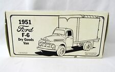 1951 Ford F-6 Dry Goods Van Truck MUSTANG MONTHLY 1:34 Scale NEW First Gear 1992