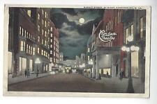 Parkersburg, West Virginia, Market Street by Night - Camden Theatre