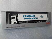 MAN TGX Kammann Thermologistik 68169 Mannheim - H.Essers Group 3600 Genk Belgien