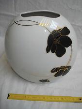 vase 1970 Scherzer Bavière Allemagne décor floral