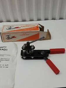 NEW IN BOX / DELUXE FLARING TOOL. 3/ 16 TO 5/8 O. D.  2ND ONE LISTED. NO- RESERV