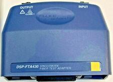 Fluke Dsp Fta430 Sm Fiber Optic Module For Fluke Dsp 4000 Dsp 4300